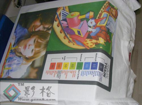 影格科技数码喷墨印花-个性T恤印花-DIY出自己的印花T恤