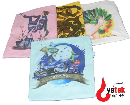 影格科技数码喷墨印花,专注数字T恤直印花,匠心专业纺织品直印花!