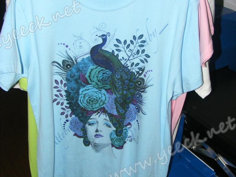 数码喷墨直印花打印样品展示-数码t恤印花机,t恤数码印花机,小型服装印花机,个性印花T恤实拍图…