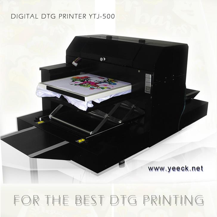 最轻便速度超快的数码印花机-个性T恤打印机成衣纺织品直印花机