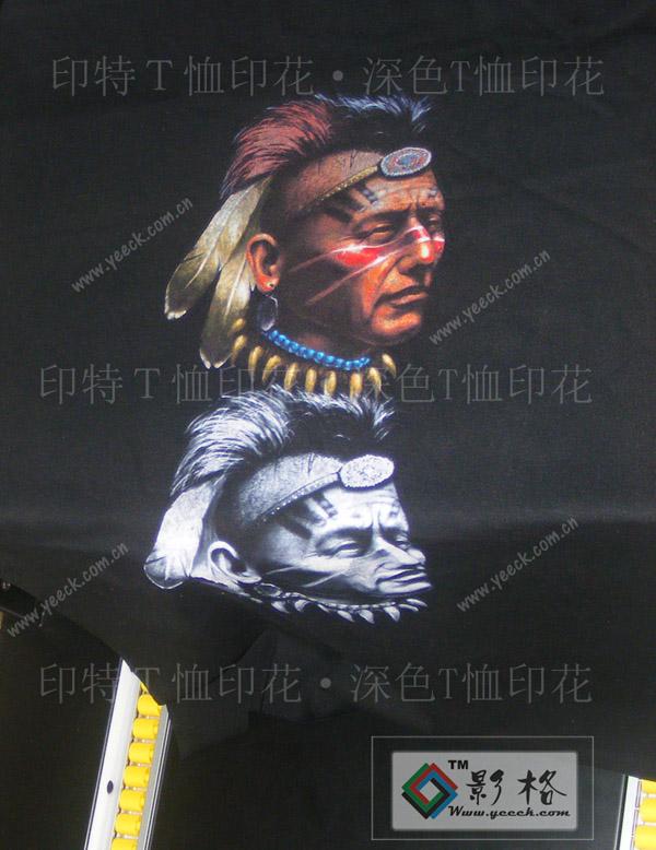 深色T恤印花设备软件墨水-影格科技T恤印花